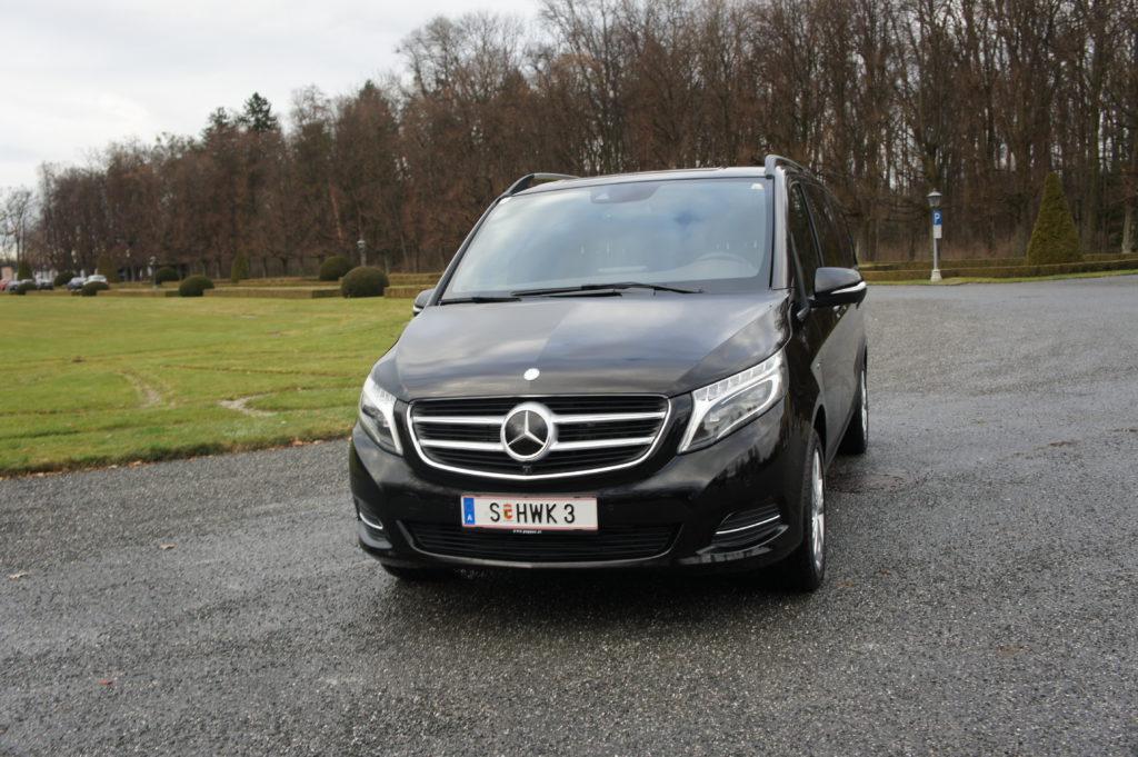 Mercedes benz v class hwk limousineservice in salzburg for Mercedes benz austria
