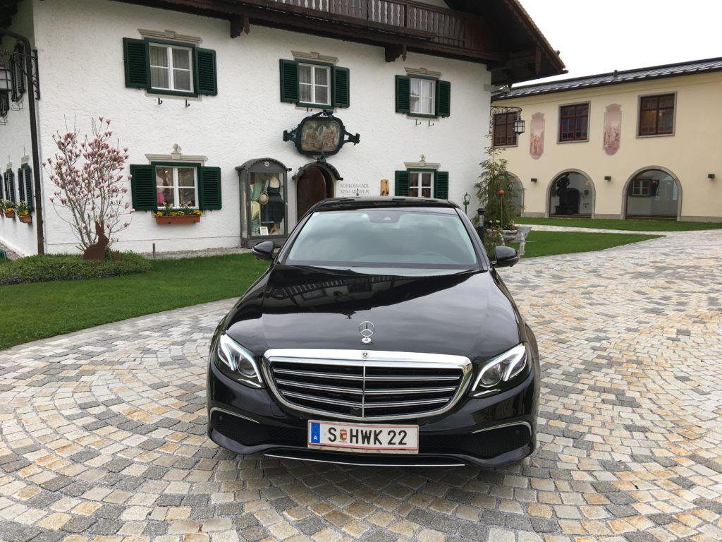 Mercedes benz e klasse hwk limousinenservice in salzburg for Mercedes benz austria